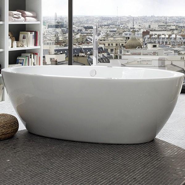 fritstående badekar Find Forma fritstående badekar i 190 x 94 cm fra Strømberg. Se  fritstående badekar