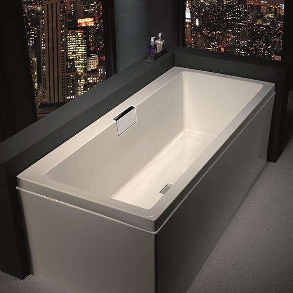 akryl badekar Se Strømberg Celsius akryl badekar i str. 170 X 70 cm online akryl badekar