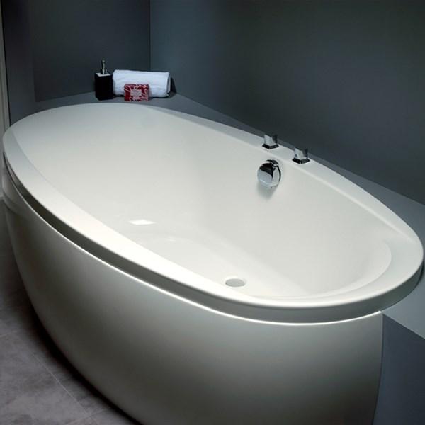 akryl badekar Bestil et tilbud på Celsius badekar i 190 x 100 cm fra Strømberg her akryl badekar