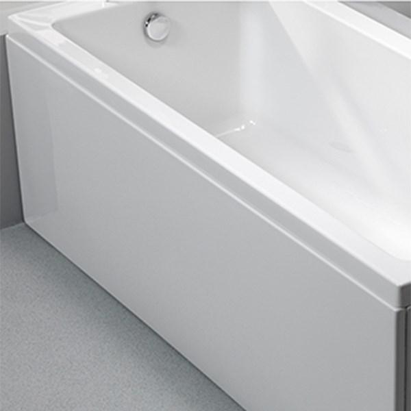 akryl badekar Badekar frontpanel 1500x515mm akryl akryl badekar